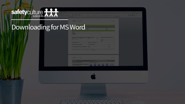 Downloading for MS Word